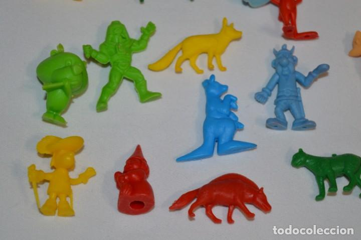Figuras de Goma y PVC: Variadas colecciones / Lote de FIGURAS / FIGURITAS / Tipo/tamaño DUNKIN y SIMILARES - ¡Mira! Lote 05 - Foto 5 - 215894211