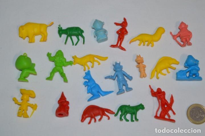 Figuras de Goma y PVC: Variadas colecciones / Lote de FIGURAS / FIGURITAS / Tipo/tamaño DUNKIN y SIMILARES - ¡Mira! Lote 05 - Foto 6 - 215894211