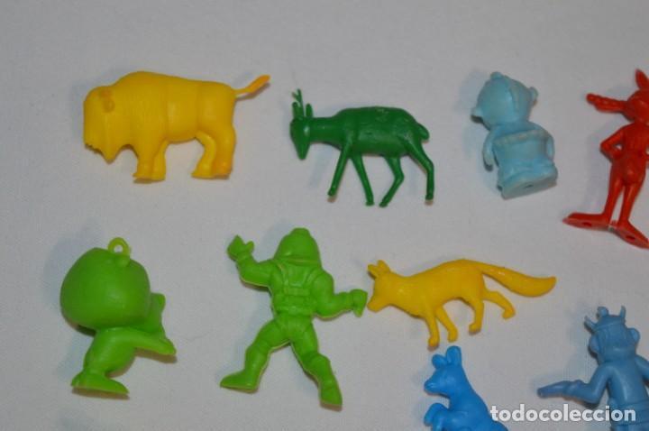 Figuras de Goma y PVC: Variadas colecciones / Lote de FIGURAS / FIGURITAS / Tipo/tamaño DUNKIN y SIMILARES - ¡Mira! Lote 05 - Foto 7 - 215894211