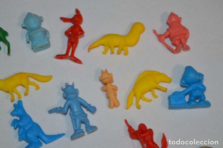 Figuras de Goma y PVC: Variadas colecciones / Lote de FIGURAS / FIGURITAS / Tipo/tamaño DUNKIN y SIMILARES - ¡Mira! Lote 05 - Foto 8 - 215894211