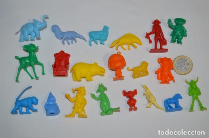VARIADAS COLECCIONES / LOTE DE FIGURAS / FIGURITAS / TIPO/TAMAÑO DUNKIN Y SIMILARES - ¡MIRA! LOTE 06 (Juguetes - Figuras de Goma y Pvc - Dunkin)