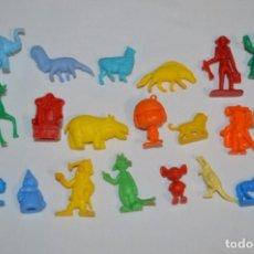 Figuras de Goma y PVC: VARIADAS COLECCIONES / LOTE DE FIGURAS / FIGURITAS / TIPO/TAMAÑO DUNKIN Y SIMILARES - ¡MIRA! LOTE 06. Lote 215895216