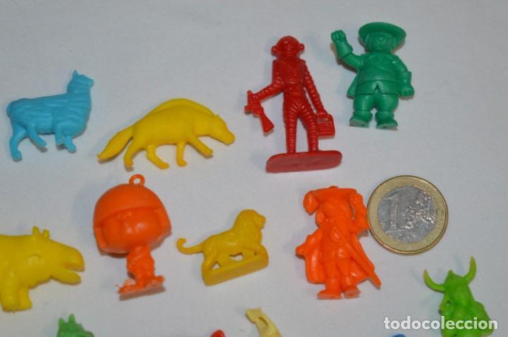 Figuras de Goma y PVC: Variadas colecciones / Lote de FIGURAS / FIGURITAS / Tipo/tamaño DUNKIN y SIMILARES - ¡Mira! Lote 06 - Foto 3 - 215895216