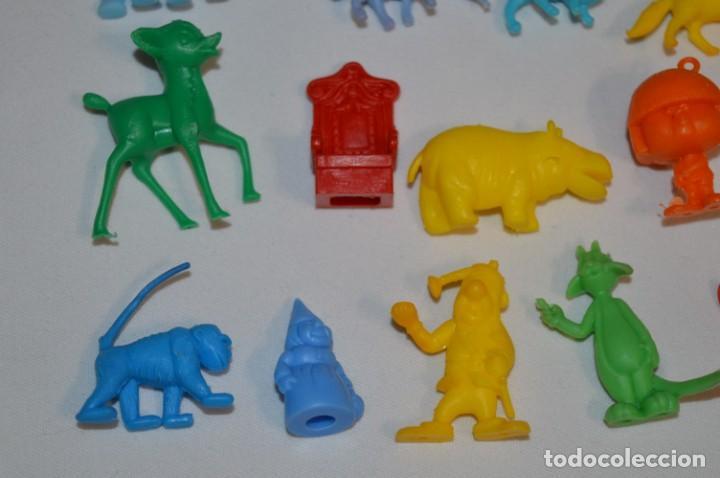Figuras de Goma y PVC: Variadas colecciones / Lote de FIGURAS / FIGURITAS / Tipo/tamaño DUNKIN y SIMILARES - ¡Mira! Lote 06 - Foto 4 - 215895216