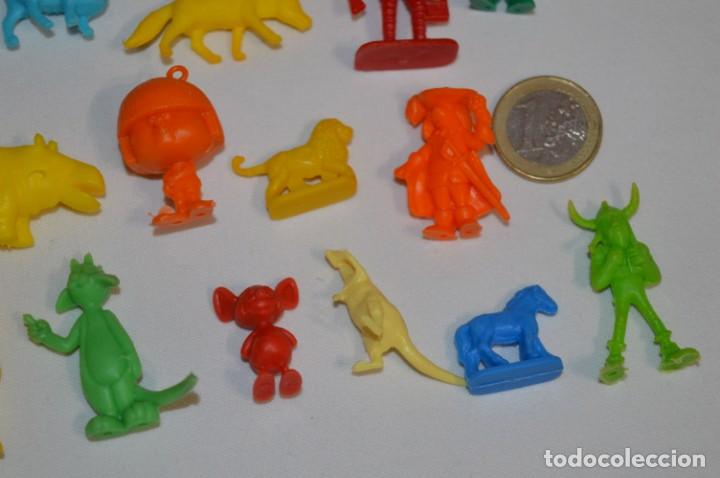 Figuras de Goma y PVC: Variadas colecciones / Lote de FIGURAS / FIGURITAS / Tipo/tamaño DUNKIN y SIMILARES - ¡Mira! Lote 06 - Foto 5 - 215895216