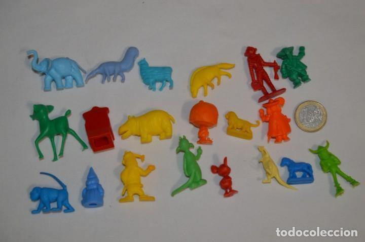 Figuras de Goma y PVC: Variadas colecciones / Lote de FIGURAS / FIGURITAS / Tipo/tamaño DUNKIN y SIMILARES - ¡Mira! Lote 06 - Foto 6 - 215895216