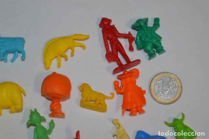 Figuras de Goma y PVC: Variadas colecciones / Lote de FIGURAS / FIGURITAS / Tipo/tamaño DUNKIN y SIMILARES - ¡Mira! Lote 06 - Foto 8 - 215895216