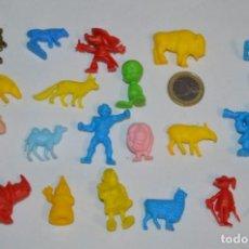 Figuras de Goma y PVC: VARIADAS COLECCIONES / LOTE DE FIGURAS / FIGURITAS / TIPO/TAMAÑO DUNKIN Y SIMILARES - ¡MIRA! LOTE 07. Lote 215895887
