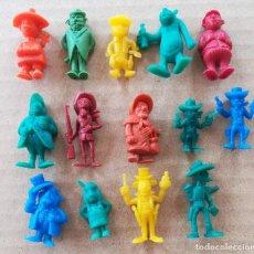 Figuras de Goma y PVC: FIGURAS DUNKIN LUCKY LUKE. Lote 216377392
