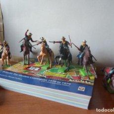 Figurines en Caoutchouc et PVC: BRITAINS / BRITAINS DEETAIL /7º CABALLERIA / LITTLE BIG HORN. Lote 216420753