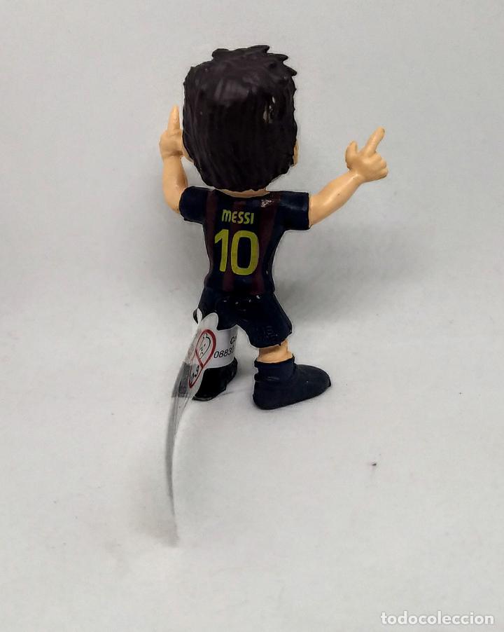Figuras de Goma y PVC: Figura comansi Lionel Messi Fútbol Club Barcelona nuevo con etiqueta - Foto 2 - 216422901