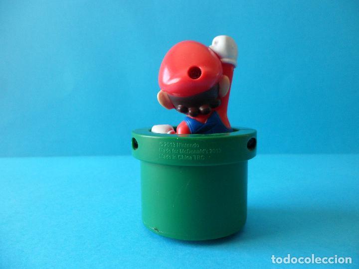 Figuras de Goma y PVC: Figura de Super Mario Bros - Mario - 2013 Nintendo - McDonalds - Foto 4 - 216499967