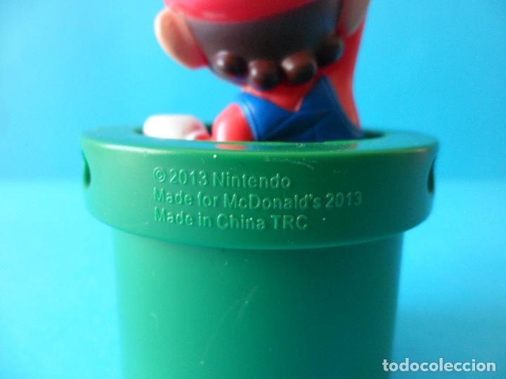 Figuras de Goma y PVC: Figura de Super Mario Bros - Mario - 2013 Nintendo - McDonalds - Foto 5 - 216499967