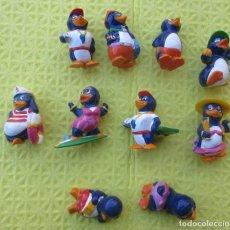 Figuras Kinder: SERIE DE 10 MUÑECOS KINDER. Lote 216641236