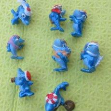 Figuras Kinder: SERIE DE 9 MUÑECOS KINDER. Lote 216641437