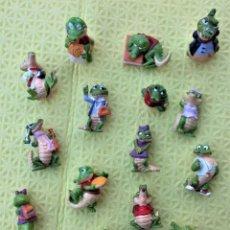 Figuras Kinder: SERIE DE 14 MUÑECOS KINDER. Lote 216641473
