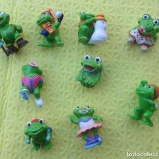 Figuras Kinder: SERIE DE 5 MUÑECOS KINDER. Lote 216641562
