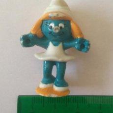 Figuras Kinder: PITUFINA PITUFO KINDER MONOBLOC ANTIGUO. Lote 216761821