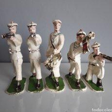 Figuras de Goma y PVC: MARINEROS FRANCESES, CYRNOS (FRANCIA) AÑOS 50, COMPATIBLES CON LOS SOLDADITOS DE REAMSA Y LAFREDO. Lote 216893865