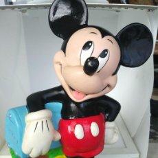 Figuras de Goma y PVC: HUCHA MICKEY MOUSE DE DISNEY BULLYLAND DE 24 X 15 CM. Lote 216901743