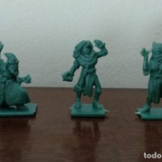 Figuras de Goma y PVC: ANTIGUOS MUÑECOS O FIGURAS DE ROL HEROQUEST O SIMILAR - VER FOTOS. Lote 216934881