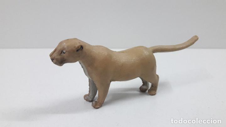 Figuras de Goma y PVC: LEONA . REALIZADA POR ARCLA . ORIGINAL AÑOS 50 EN GOMA - Foto 2 - 216949492