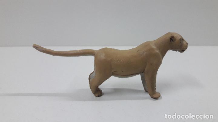 Figuras de Goma y PVC: LEONA . REALIZADA POR ARCLA . ORIGINAL AÑOS 50 EN GOMA - Foto 5 - 216949492