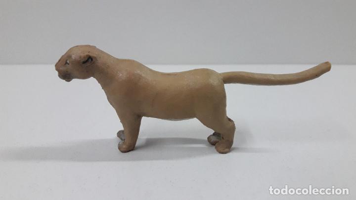 Figuras de Goma y PVC: LEONA . REALIZADA POR ARCLA . ORIGINAL AÑOS 50 EN GOMA - Foto 6 - 216949492