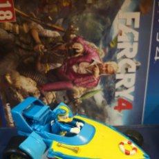 Figuras de Goma y PVC: FIGURA PVC GOMA DURA PATO DONALD COCHE CARRERA FORMULA 1 F1 - BULLYLAND BULLY - DISNEY. Lote 216951311