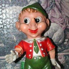 Figuras de Goma y PVC: MUÑECO PINOCHO ANTIGUA DE GOMA GRANDE. Lote 217026470
