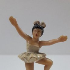 Figuras de Goma y PVC: BAILARINA DE BALLET . REALIZADA POR M. SOTORRES . ORIGINAL AÑOS 60 EN BAQUELITA. Lote 217168308