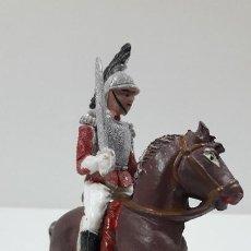 Figuras de Goma y PVC: CORACERO DEL REY A CABALLO . REALIZADO POR TEIXIDO . ORIGINAL AÑOS 60 . CABALLO NO INCLUIDO. Lote 217168872