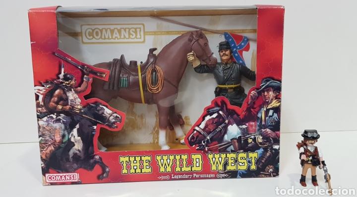 Figuras de Goma y PVC: THOMAS CROGHAM THE WILD WEST Figura PVC COMANSI Western OESTE con su Caja NUEVO Heroes WEST - Foto 2 - 217180661