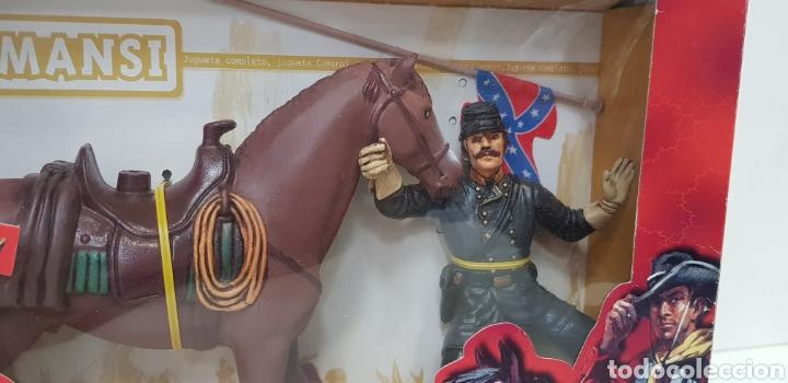 Figuras de Goma y PVC: THOMAS CROGHAM THE WILD WEST Figura PVC COMANSI Western OESTE con su Caja NUEVO Heroes WEST - Foto 3 - 217180661
