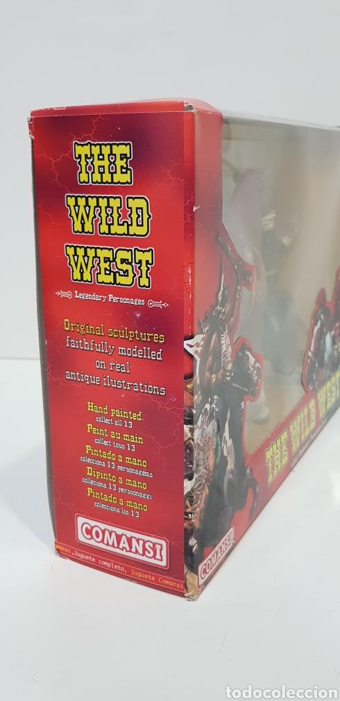 Figuras de Goma y PVC: THOMAS CROGHAM THE WILD WEST Figura PVC COMANSI Western OESTE con su Caja NUEVO Heroes WEST - Foto 4 - 217180661