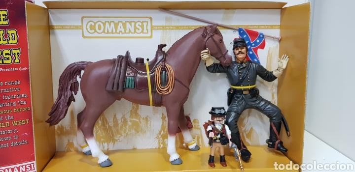 Figuras de Goma y PVC: THOMAS CROGHAM THE WILD WEST Figura PVC COMANSI Western OESTE con su Caja NUEVO Heroes WEST - Foto 7 - 217180661