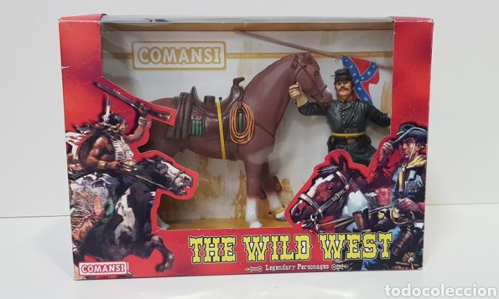 THOMAS CROGHAM THE WILD WEST FIGURA PVC COMANSI WESTERN OESTE CON SU CAJA NUEVO HEROES WEST (Juguetes - Figuras de Goma y Pvc - Comansi y Novolinea)