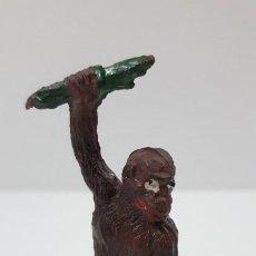 Figuras de Goma y PVC: MONO CON RAMA . REALIZADO POR GAMA . ORIGINAL AÑOS 50 EN GOMA. Lote 217182998