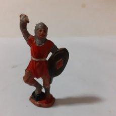 Figuras de Goma y PVC: FIGURA SOLDADO MEDIEVAL EN GOMA REAMSA ,JECSAN. Lote 217267813