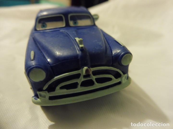 Figuras de Goma y PVC: Bullyland figura goma pvc Disney Pixar Cars coche Doc Hudson con etiqueta - Foto 2 - 217281381