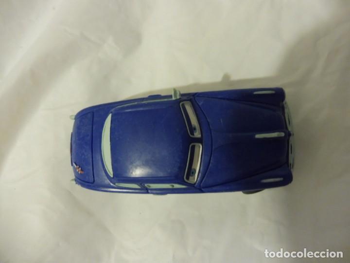 Figuras de Goma y PVC: Bullyland figura goma pvc Disney Pixar Cars coche Doc Hudson con etiqueta - Foto 3 - 217281381