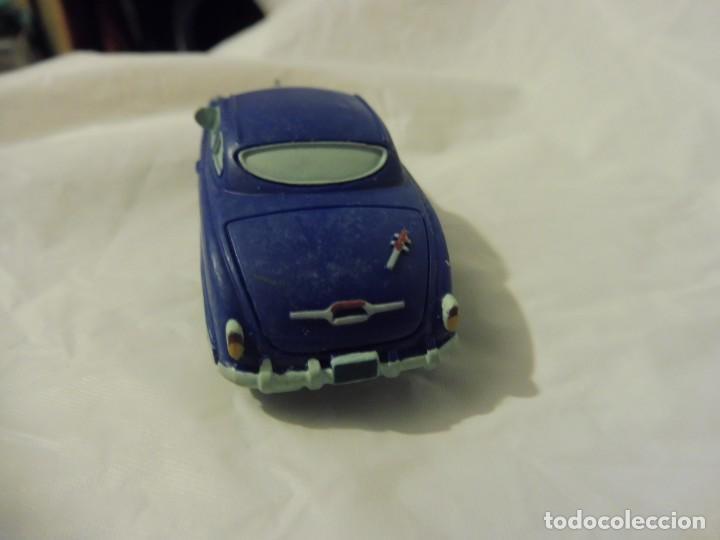 Figuras de Goma y PVC: Bullyland figura goma pvc Disney Pixar Cars coche Doc Hudson con etiqueta - Foto 4 - 217281381