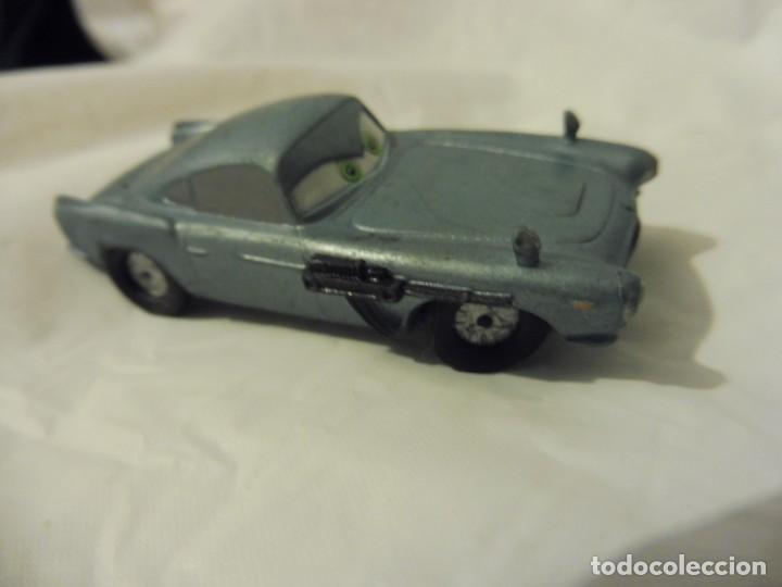 BULLYLAND FIGURA GOMA PVC DISNEY PIXAR CARS COCHE FINN MC MISSILE CON ETIQUETA (Juguetes - Figuras de Goma y Pvc - Bully)