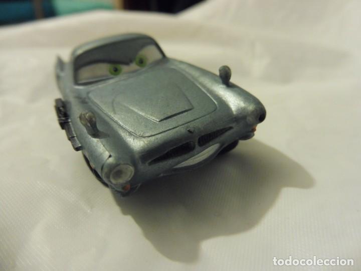 Figuras de Goma y PVC: Bullyland figura goma pvc Disney Pixar Cars coche Finn Mc Missile con etiqueta - Foto 2 - 217281857