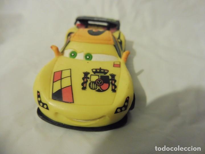 Figuras de Goma y PVC: Bullyland figura goma pvc Disney Pixar Cars coche Miguel Camino con etiqueta - Foto 2 - 217282268