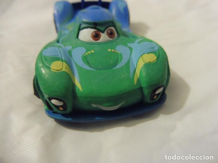 Figuras de Goma y PVC: Bullyland figura goma pvc Disney Pixar Cars coche Carla Velosco con etiqueta - Foto 2 - 217282310
