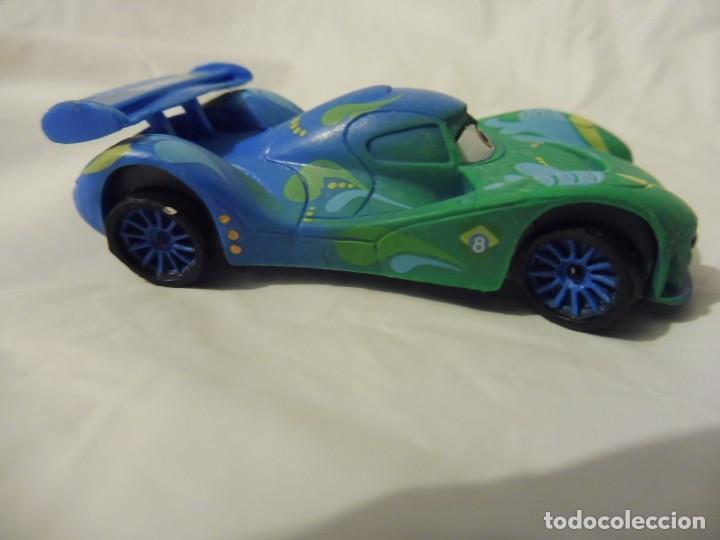 Figuras de Goma y PVC: Bullyland figura goma pvc Disney Pixar Cars coche Carla Velosco con etiqueta - Foto 4 - 217282310