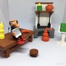 Figuras de Goma y PVC: LABORATORIO GARGAMEL - SCHLEICH. Lote 217342358