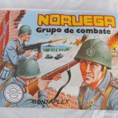 Figurines en Caoutchouc et PVC: MONTAPLEX SOBRE SIN ABRIR NORUEGA GRUPO DE COMBATE Nº 163. Lote 217346488