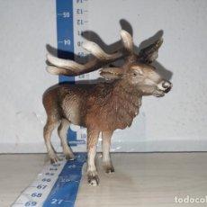 Figuras de Goma y PVC: MUÑECO FIGURA RENO SCHLEICH ANIMAL ANIMALES DIORAMA. Lote 217373002